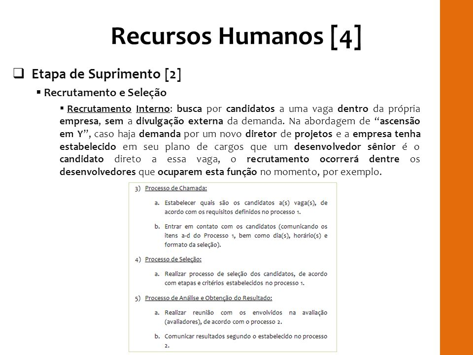 Recursos Humanos [4] RILAY Etapa de Suprimento [2]